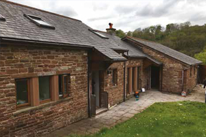 Edenside Barn - Cumbria's flood resilience demonstration project
