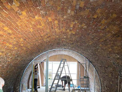 Waterproofing Historic Brick Arches, Windsor