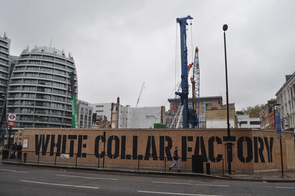 White Collar Factory, London