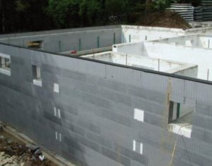 Insulating Concrete Formwork (ICF)